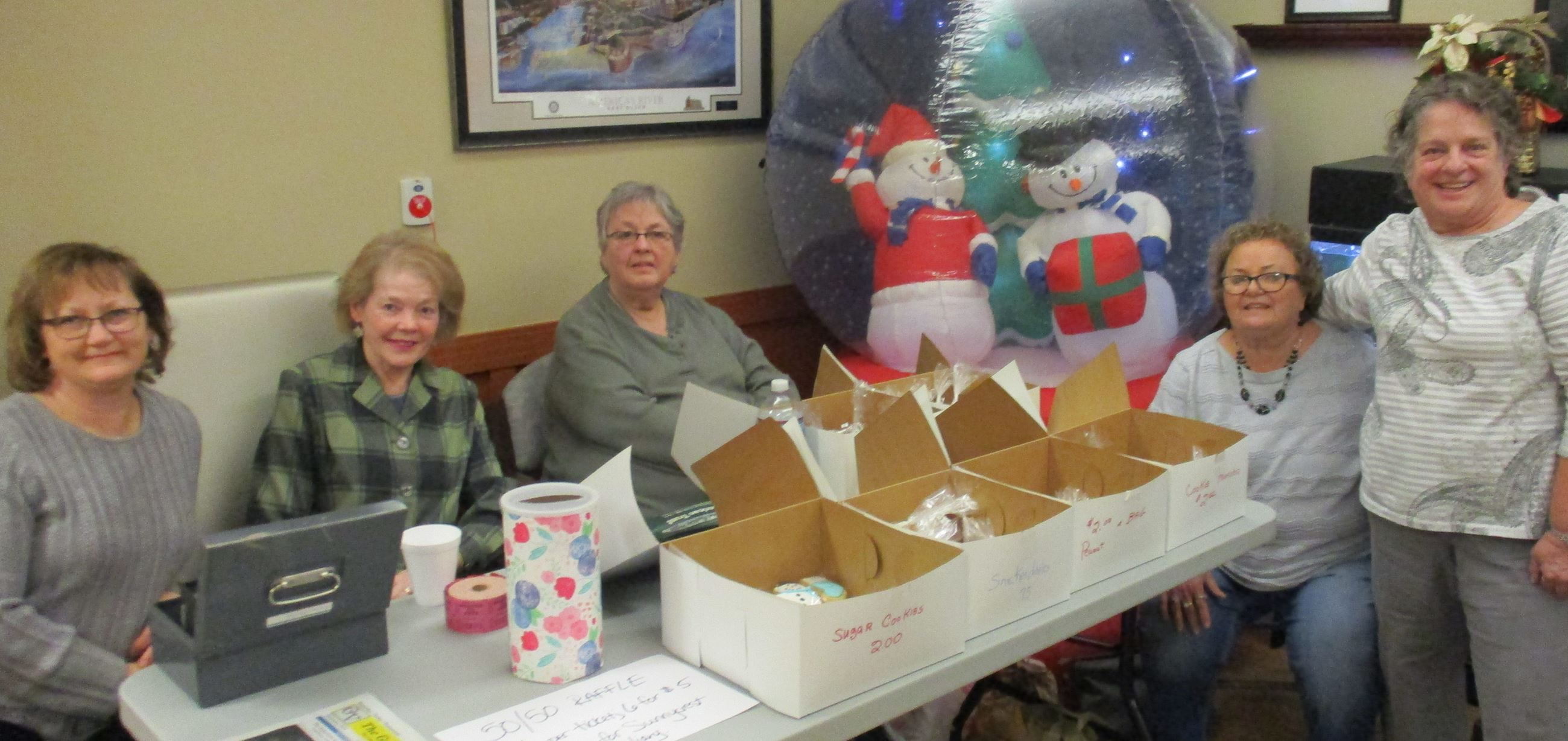 Auxiliary Club Winter Fundraising Event